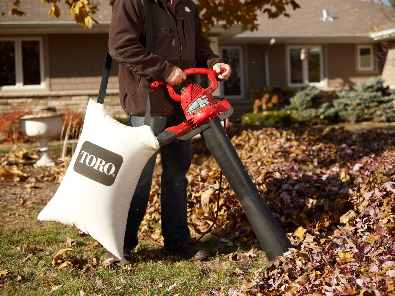 Toro 51609 Ultra 12 amp Variable-Speed leaf vacuum mulchers